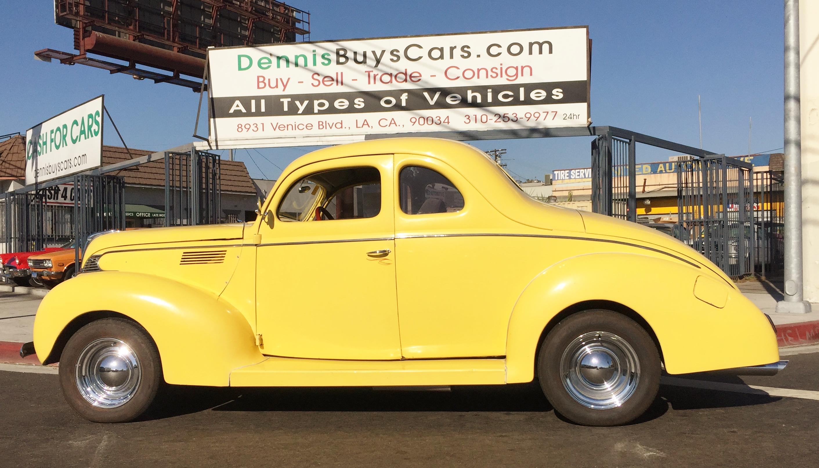 1939 Ford Standard Coupe – Dennis\' Garage of Classic Cars