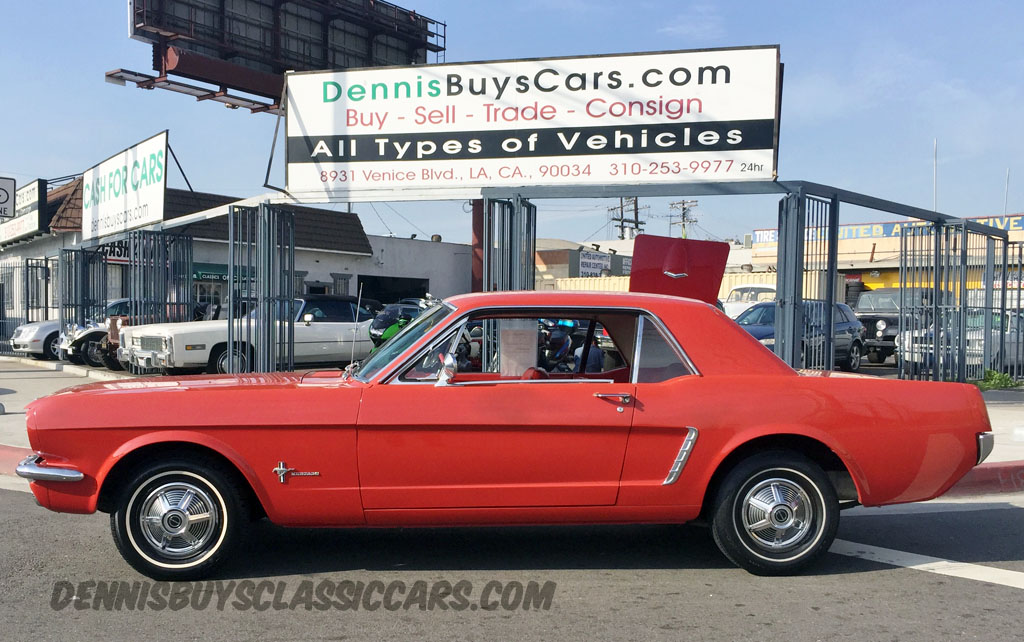 1965 Mustang Coupe – Dennis\' Garage of Classic Cars
