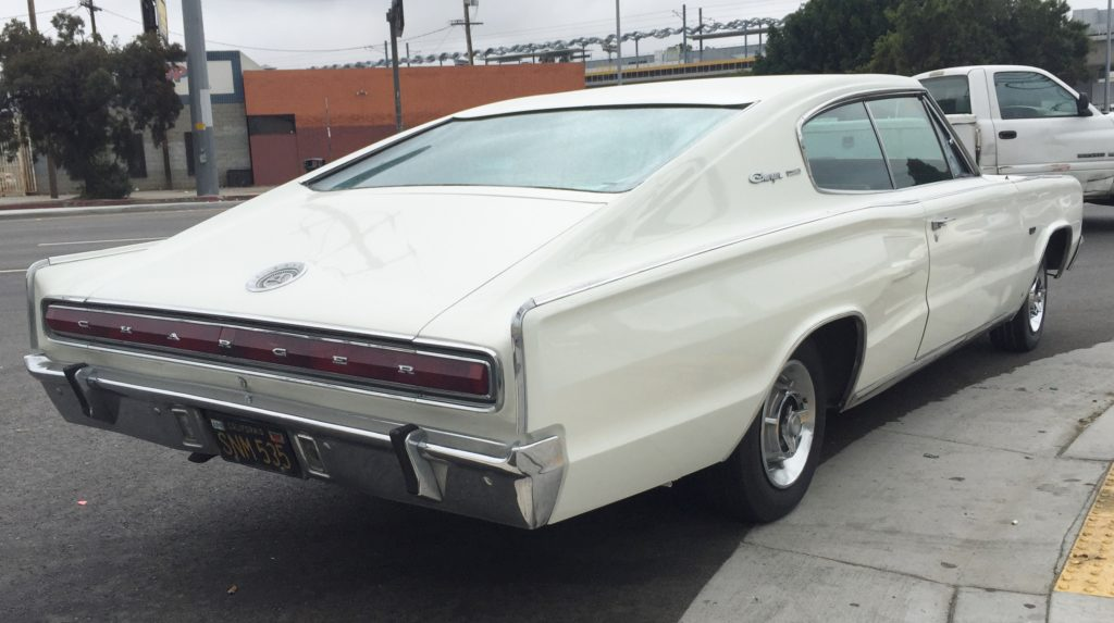 66 Dodge Charger right 3/4