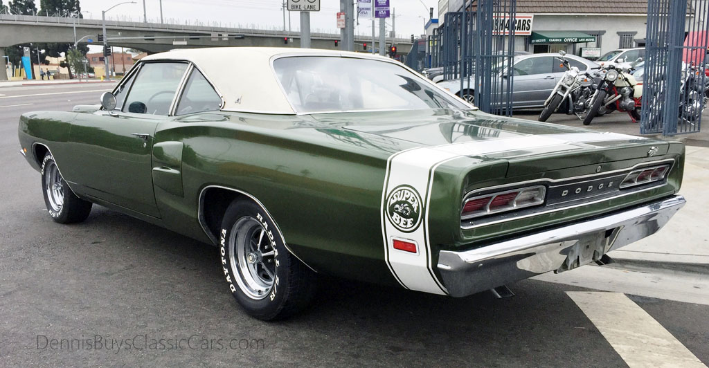 Road Runner Auto Sales >> 69 Dodge Super Bee – Dennis' Garage of Classic Cars