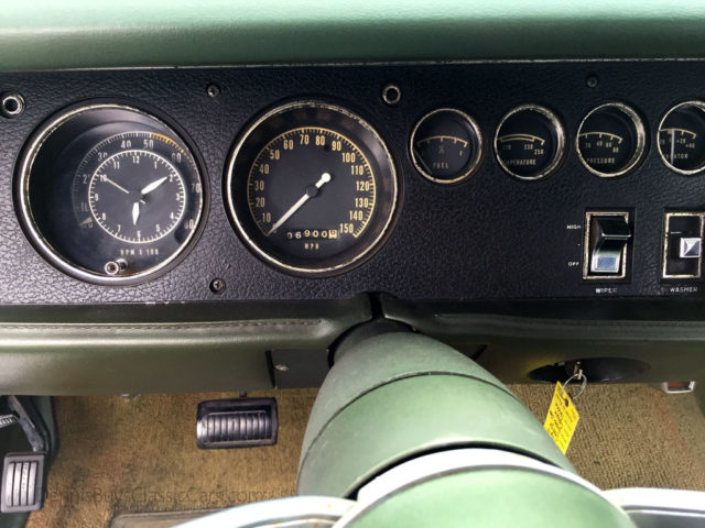 69 Super Bee instrument cluster