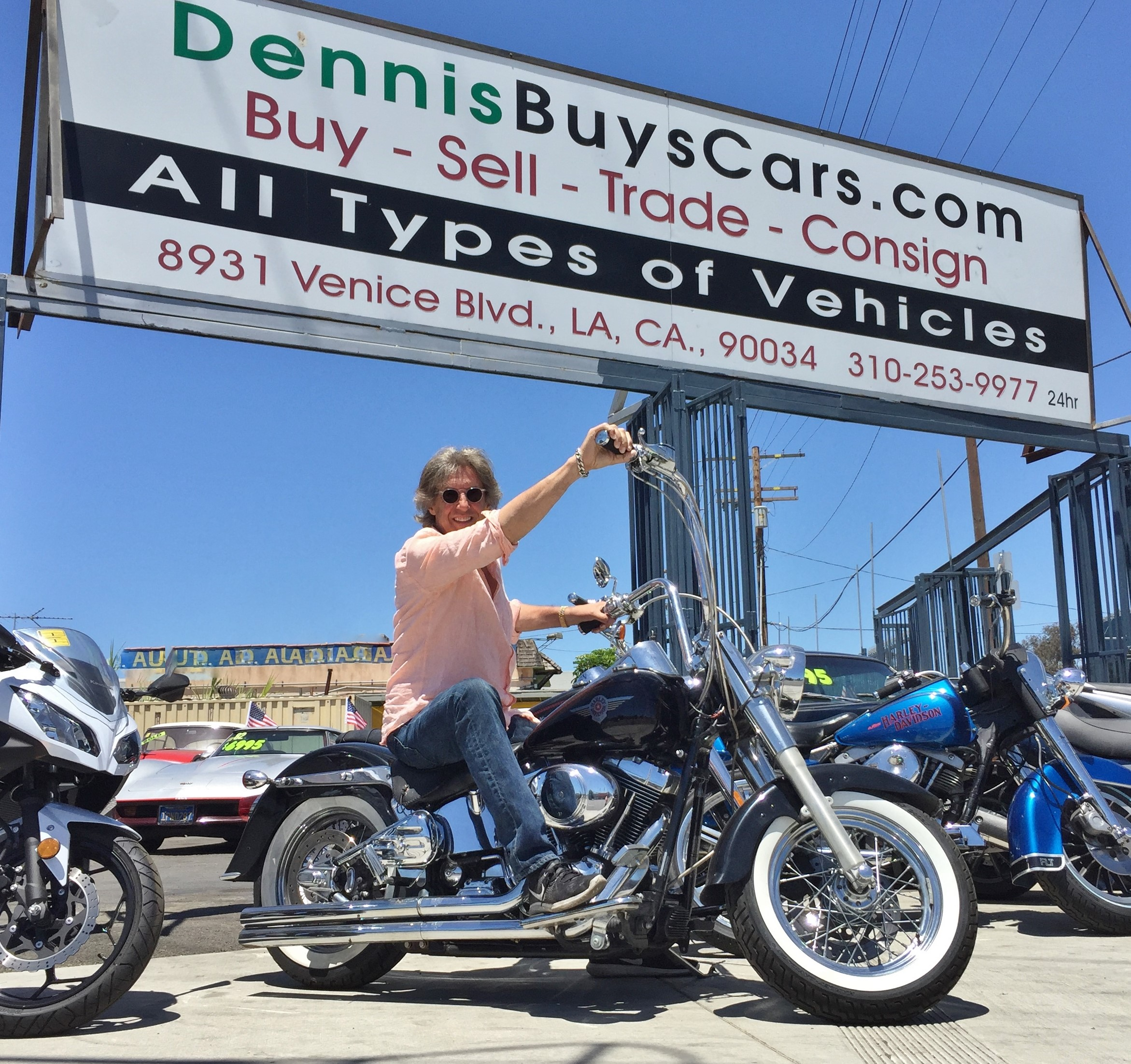 Get the Most Cash for Your Old Harley at Dennis Buys Cars in Los Angeles